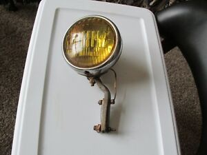 Vintage Fog Light With Bracket Tested And Working Rat Rod