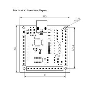 Perfeclan 2x Mach3 Usb 4 Axis Smooth Stepper Motion Control Breakout Boards