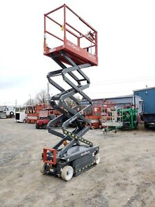 2017 Skyjack Sj3219 Scissor Lift Jlg genie Low Hours