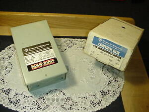 Franklin Electric 2801054910 Control Box 4 Submersible Motor 1 2 Hp 230 Volt