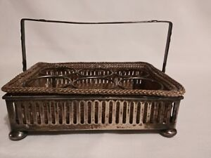 Sterling Silver Basket With Inserts