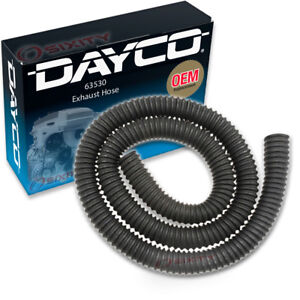 Dayco 63530 Exhaust Hose Dynamometer Vent Central Garage Exhaust Zj