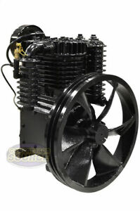 5 Hp Horsepower Cast Iron 2 Stage Air Compressor Pump Industrial Two stage Ci5