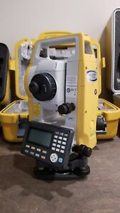 Topcon Es 55 5 Second Entry Level Total Station With Tds Ranger