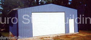 Durobeam Steel 30x42x14 Metal Prefab Building Garage Shop as Seen On Tv Direct