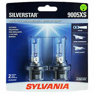 Sylvania 9005xs Silverstar High Performance Halogen Headlight Bulb 2 Bulbs