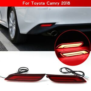 Led Light Rear Warning Bumper Light Brake Light Rear For Toyota Camry 2018 2019