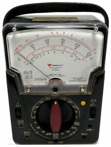 Triplett Model 630 plk Type 6 Electric Voltmeter Ohm Meter
