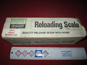 RCBS RELOADING ( 09072 ) METRIC RELOADING SCALE