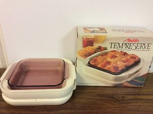 Aladdin Tempreserve Insulated Hot cold 8x8 Casserole Food Carrier Server In Box