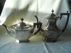 Birks Sterling Tea Pot And Coffee Pot Set