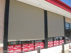 Durosteel Janus 12 Wide By 12 Tall 2000 Series Commercial Roll up Door Direct