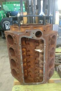 1955 Chrysler 331 Chrysler Hemi Engine Block Mopar C300 New Yorker Rat Hot Rod