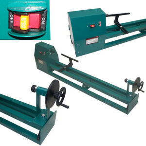 1 2hp 40 Inch 4 Speed Power Wood Turning Lathe 14x40 In Lathing Workshop Wood