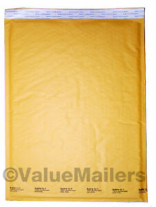 6 Bubble Lite 12 5x19 Kraft Bubble Mailers Padded Envelopes Bags 50 To 1000