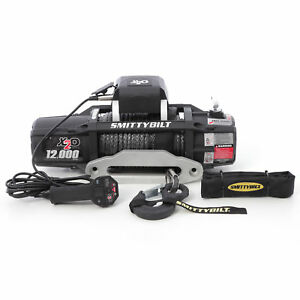 Smittybilt X2o Gen2 Series 12000lb Wireless Winch 12v Electric 98 5ft Steel Cabl