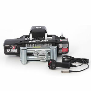 Smittybilt X2o Gen2 12000lb Wireless Winch 12v Electric 93 5ft Steel Cable