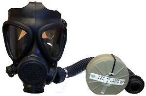 M 15 Gas Mask With Filter And Hose