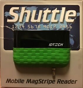 Id Tech Id 80110010 001 Shuttle Secure Mobile Magstripe Reader Pre Owned