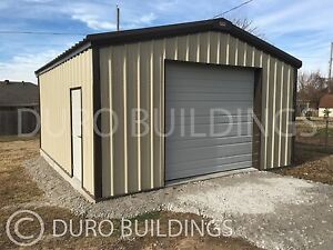 Durobeam Steel 20x24x12pr Metal Building Kits Diy Prefab Garage Workshop Direct