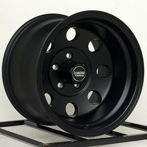 15 Black Wheels Rims Jeep Wrangler Cherokee Ford Ranger Are Baja 15x10 Set Of 5