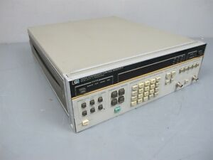 Hp 3325a Synthesizer Function Generator
