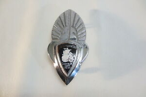 1930 s Plymouth Grille Badge Emblem Ornament Wings Winged 1932 1933 1934 1935