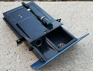 1989 1994 Oem Ford Ranger Bronco In dash Pull Out Ashtray Ash Tray Blue