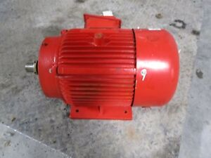 Armstrong 15hp Motor 126930c Mod 4300530 083 254tc fr 2930 rpm Used