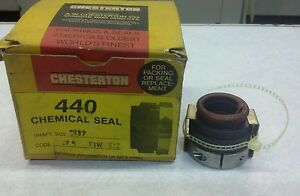 Chesterton 43217 440 Chemical Seal Shaft Size 937