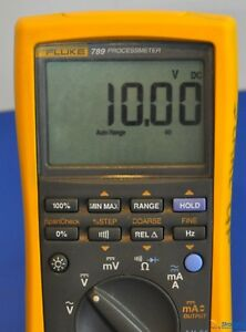 Fluke 789 Processmeter Multimeter Process Calibrator Nist Calibrated