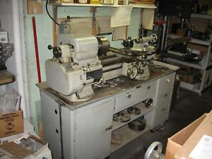 Bt 11 Sheldon Lathe With Tool Post Grinder Cross Feed Taper Rig And More