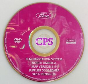 11p Update 07 2008 Ford Expedition Xlt Limited Edge F 150 Navigation Map Cd Dvd