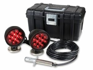 Custer Products Commercial Square 90 Magnetic Led Towing Lights 30 Ft Tow Tail