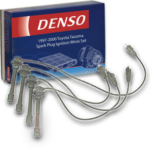 Denso Spark Plug Wire Set For 1997 2000 Toyota Tacoma 2 4l 2 7l L4 Ignition Cw