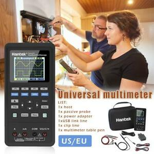 Hantek 2in1 Digital Oscilloscope waveform Generator multimeter 2 40mhz 70mhz