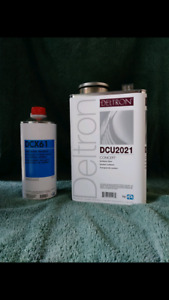 Ppg Concept Dcu2021 Clear And Dcx61 Hardner New