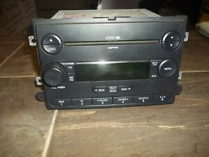 2006 2010 Ford Explorer Expedition Mercury Lincoln Mp3 Cd6 Changer Am Fm Radio