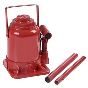 Goplus 20 Ton Hydraulic Bottle Jack Low Profile Automotive Shop Axle Jack Hoist