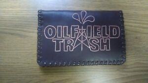 Oil Field Leather Pipe Tally Book Cover 6 75 X 4 Ddd