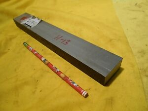 H 13 Tool Steel Bar Stock Machine Mold Die Shop Flat H13 3 4 X 1 3 8 X 12