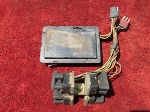 1969 1970 Mercury Cougar Mustang Sequential Flasher Relay Unit