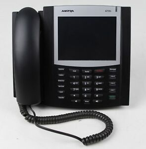 Aastra 6739i Voip Poe Color Touchscreen Display Phone Charcoal