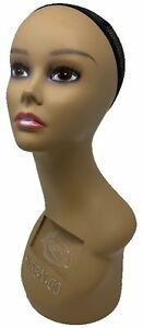 Mannequin Plastic Women Wig Display Head Hat
