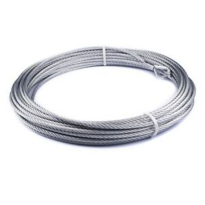 86515 Warn Winch 3 8 X 94 Wire Rope Cable For Vr10000 Winch