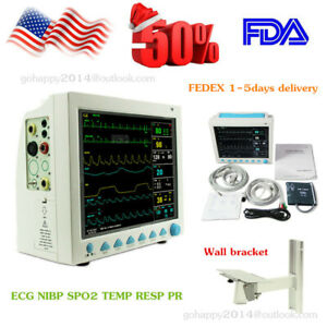 Us Fda Icu Vital Signs Patient Monitor Cms8000 6 parameters Medical Wall Bracket