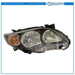 20 9195 90 To2503204 Right Headlight Lamp For 2011 13 Toyota Corolla