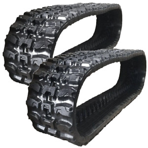2 Rubber Tracks Fits New Holland Lx985 Lx885 Lx865 450x86x60 Q Tread Snow