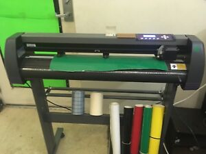 Vinyl Cutter Mh 871 34in Uscutter Sign Making Kit local Pickup Only