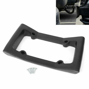 Bumper Guard License Plate Frame Holder Front Mount Bracket Protector H Quality